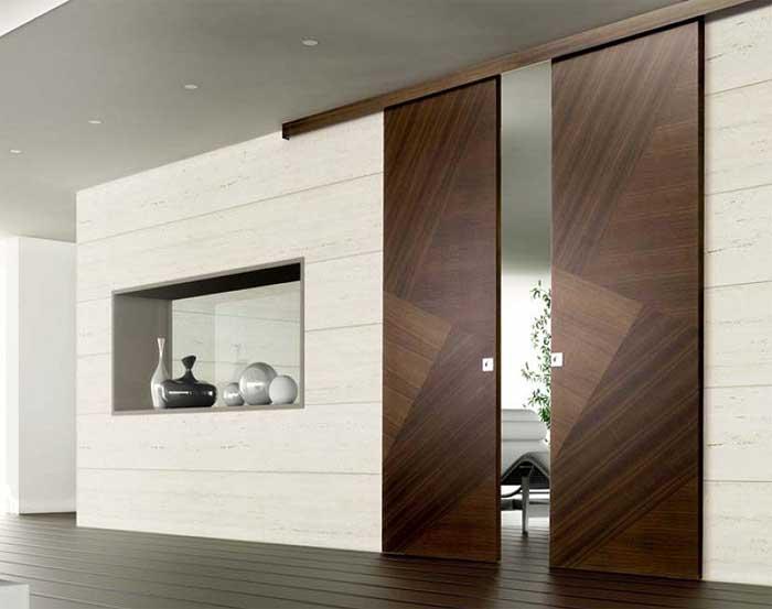 Porte scorrevoli esterno muro - Brico porte interne ...